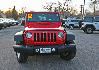 2012 Jeep Wrangler Sport 2dr Red 7669 IMG_3469