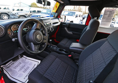 2012 Jeep Wrangler Sport 2dr Red 7669 IMG_3471