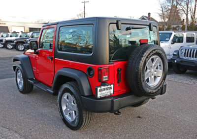 2012 Jeep Wrangler Sport 2dr Red 7669 IMG_3474