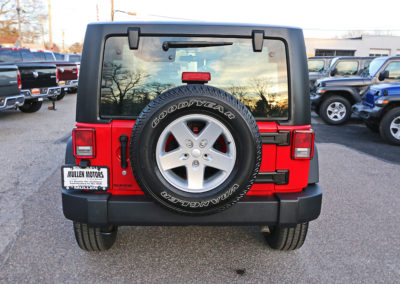 2012 Jeep Wrangler Sport 2dr Red 7669 IMG_3475