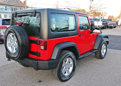 2012 Jeep Wrangler Sport 2dr Red 7669 IMG_3476
