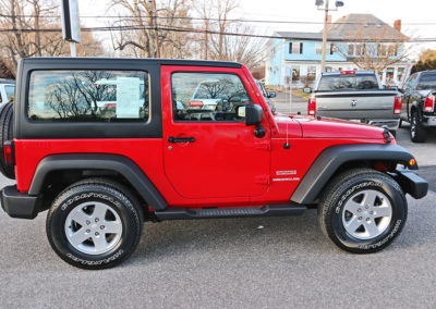 2012 Jeep Wrangler Sport 2dr Red 7669 IMG_3477