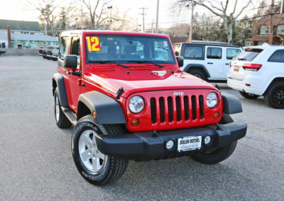 2012 Jeep Wrangler 2-Door Sport
